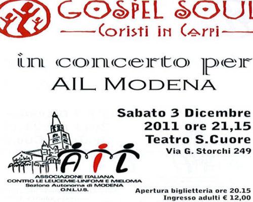 concerto gospel ail modena