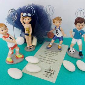 cod.PMSP4 Portafoto/memo sport, 4 soggetti a scelta: nuoto, pallavolo, basket, calcio