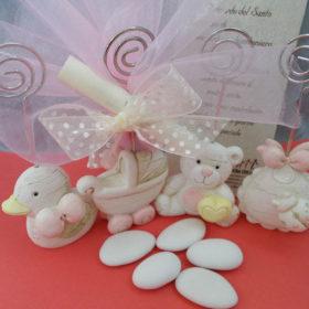 cod.NBPM4 Portafoto neonato – 4 soggetti assortiti – rosa: paperetta,orsetto, bavaglino, carrozzina azzurro: cavallo, treno, bavaglino, orsetto