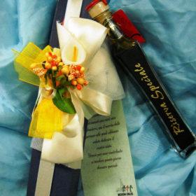 cod. SMR ampolla rettangolare contenente 40ml balsamico di modena riserva speciale, invecchiato in botti di legno pregiato – fornibile solo con scatola –