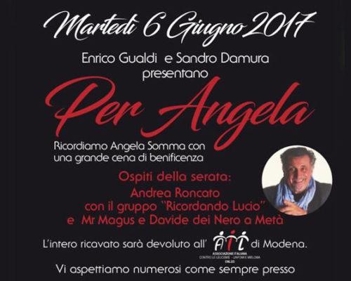 cena angela 2017
