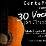 CantaMO presenta: 30 voci per Chiara