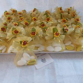 A950 sacchettino piccolo con fiorellino 50° anniversario