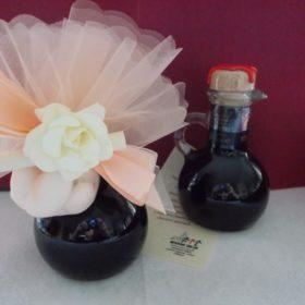 ARG100 Ampolla contenente 100ml di balsamico di Modena - cm. 12x6 fornibile con o senza scatola