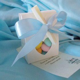 cod. BSCR Busta porta confetti con cuore - cm. 6x3x8