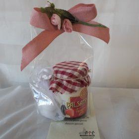 cod. TFBLS Sacchettino contenente vasetto balsafrutta gusto fragola e balsamico - ml120